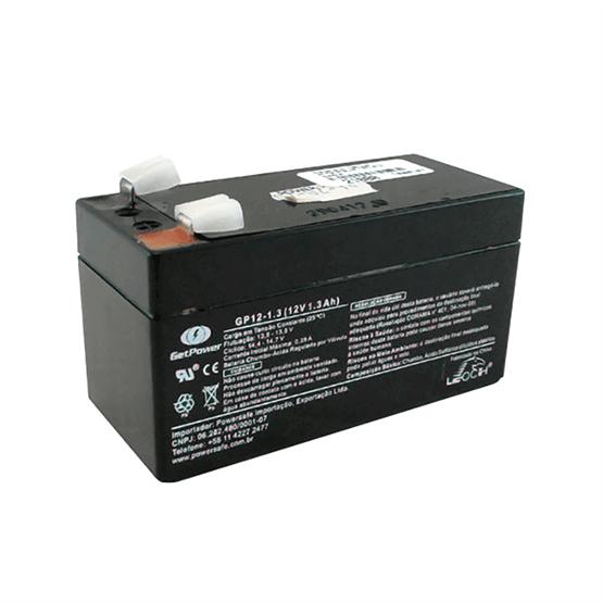 Bateria 12V/1,3Ah para Centrais de Alarme de Incêndio