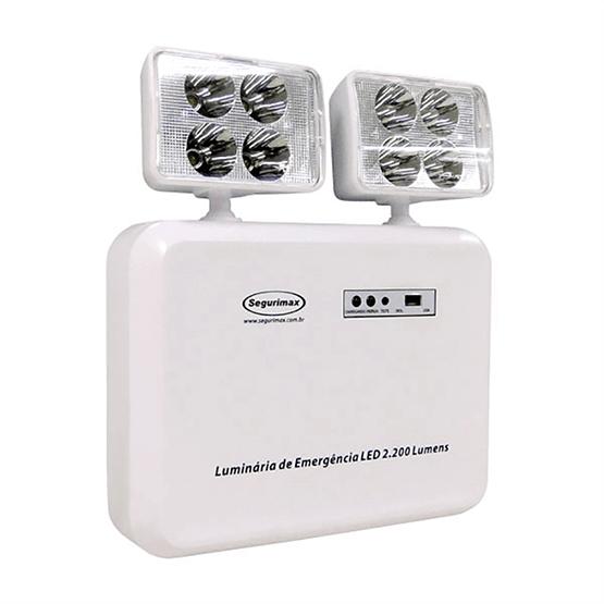 Bloco de Iluminação de Emergência 2x20W c/ Bateria