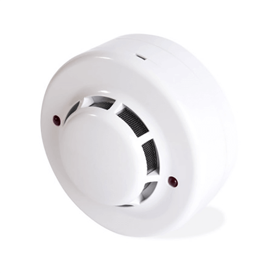 Detector óptico de fumaça convencional 12/24V
